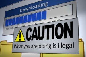Illegaler Download von Musik