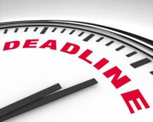 Die Unterlassungserklärung soll in einer bestimmten Frist unterzeichnet werden.