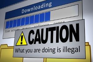 Auf Kinox.to einen Download starten: Ob kostenlos oder nicht, es ist illegal.