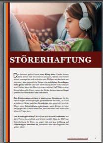 E-Book zur Störerhaftung bei Eltern