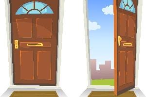 Eine Abmahnung für eine offene Haustür ist im Mietrecht möglich.